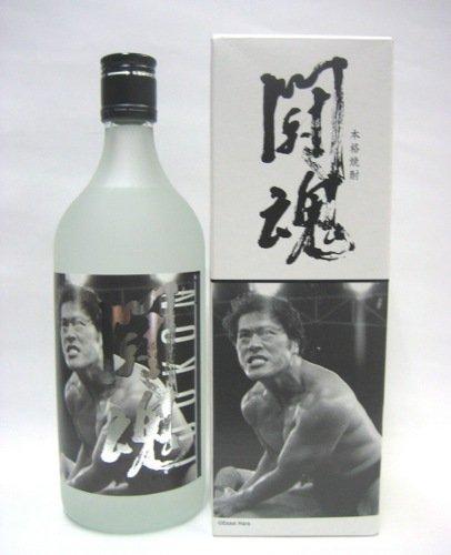 アントニオ猪木公式写真ラベル 本格焼酎 「闘魂」