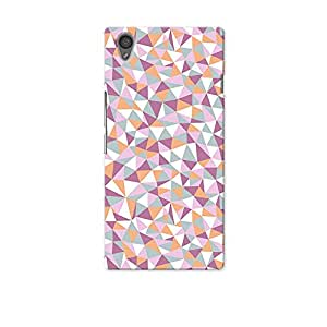 ArtzFolio Mosaic Triangles : OnePlus X Matte Polycarbonate Original Branded Mobile Phone Designer Hard Shockproof Protective Back Case Cover Protector