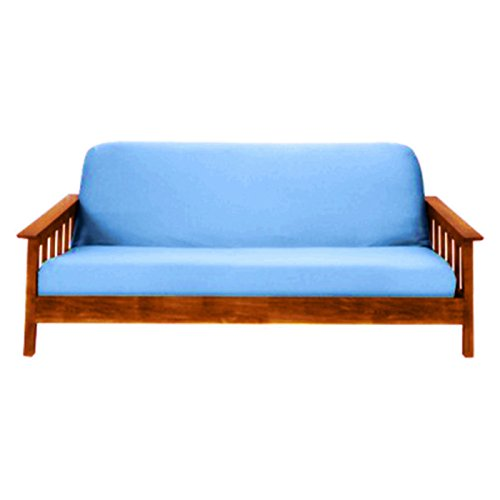 Magshion@Futon Cover Slipcover (Light Blue, Full (54x75 in.)) (Light Blue Futon compare prices)