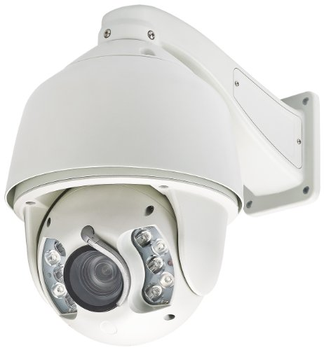 Cop Security 15-Cdh55Wi-20W Hd Sdi Ir Outdoor Speed Dome 20 X Optical Zoom Lens (White)