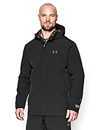 Under Armour Men\'s UA ArmourStorm® Sonar Waterproof Jacket Large Black