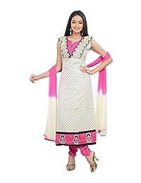 Sareeshut Women's Cotton Regular Fit Anarkali Suits - B00WQZ4WL0