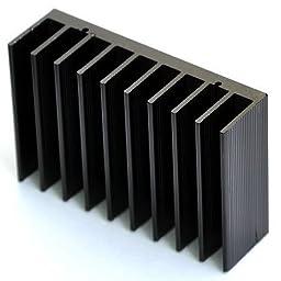 Electronics-Salon 4PCS HEATSINK, For LM1875 TDA2030 ect About 20 Watts AMP