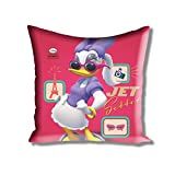 Disney Athom Trendz Cushion Cover- Daisy Duck- Mickey And Friends - 40cmx40cm