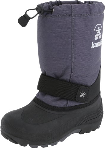 Kamik Rocket Cold Weather Boot (Toddler/Little Kid/Big Kid),Charcoal,10 M Us Toddler front-1037629
