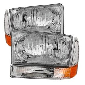 Xtune HD-JH-FF25099-AM-C Ford Superduty Headlight (Ford Headlight Assembly compare prices)