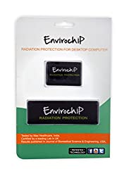Envirochip - Radiation Protection Chip for Desktop PC (Black Colour)