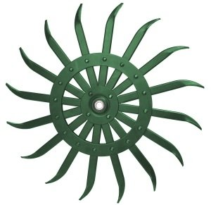 "Amazon.com: ROTARY HOE WHEEL-21""-GREEN: Industrial & Scientific"