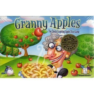 Granny Apples (A Quick Counting Apple Dice Game) - 1