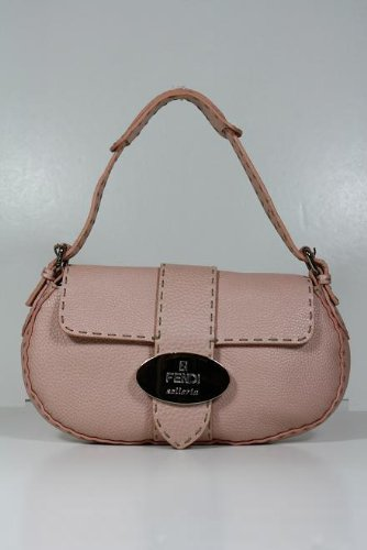 Fendi Handbags Very Light Pink Leather 8BR407