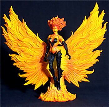 Picture of Diamond Select Marvel Select Phoenix Figure Variant - Fiery Jean Grey New X-Men (B001S25LGW) (X-Men Action Figures)