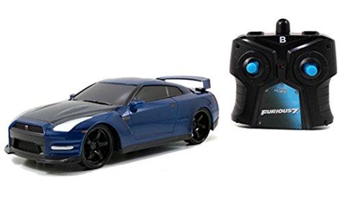 Fast & Furious 1/24 Brian's Nissan GT-R (R35) Radio Control Car R/C (Rc Nissan Gtr compare prices)