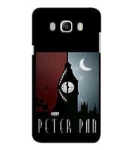 EPICCASE Peter Pan Mobile Back Case Cover For Samsung J7 2016 (Designer Case)