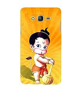 Little Hanuman 3D Hard Polycarbonate Designer Back Case Cover for Samsung Galaxy On5 Pro :: Samsung Galaxy ON 5 Pro