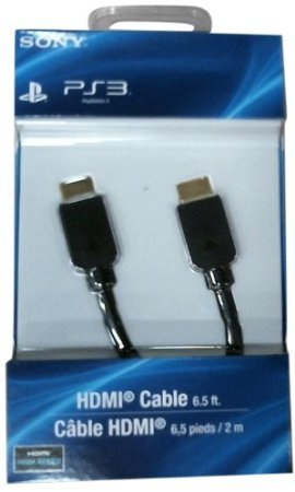sony computer entertainment hdmi cable playstation 3 electronics video game console. Black Bedroom Furniture Sets. Home Design Ideas