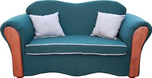 Fantasy Furniture Homey VIP Sofa, Green