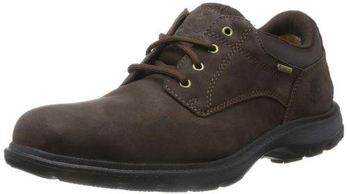 Timberland Oxford - Zapatos de cordones para hombre, Dark Brown, 44