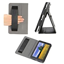 Poetic BaseBook Leather Case For The Google Nexus 7 Android Tablet By Asus Black (Automatically Wakes And Puts...
