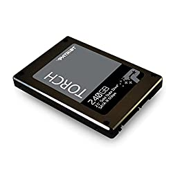 Patriot Torch 240GB SATA 3 2.5 (7mm height) Solid State Drive - With Transfer Speeds of Up-To 555 MB/s read and 535 MB/s write