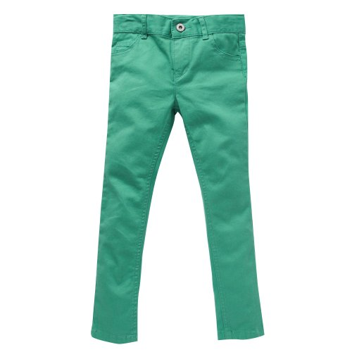 bluezoo Girl's Green Super Skinny Fit Jeans