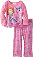 Sofia the First Little Girls'  Pearls 2 Piece Pajama Set