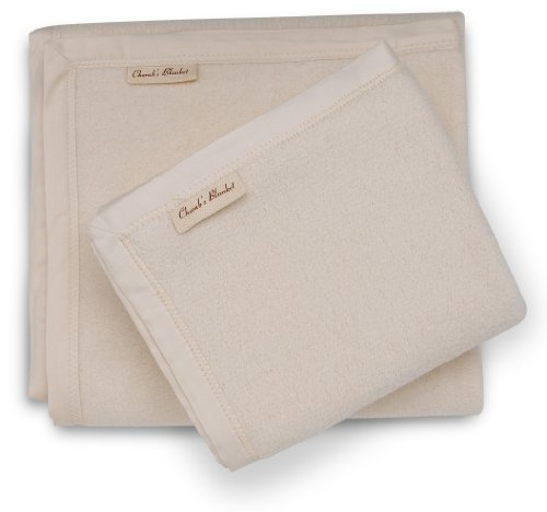 Luxuriously Soft, Deluxe Mommy And Me Organic Cotton Blanket Set-Premium Baby Shower Gift - Made In The Usa - Gots Certified Organic Cotton