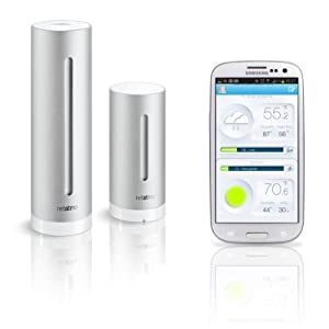 Netatmo Weather Station for iOS and Android Devices