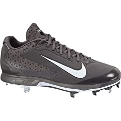 Mens Nike Air Huarache Pro Low Metal Baseball Cleat Graphite White by Nike