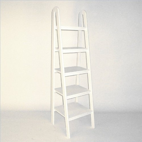 Ladder Shelf in White