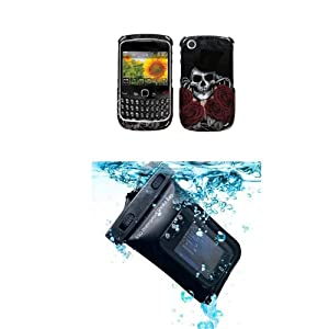 RIM BLACKBERRY 8520 9300 (Curve) Magician Cell Phone Case Protector Cover (free ESD Shield Bag)