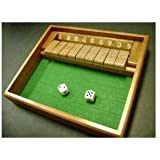 Shut the Box Game - Wooden