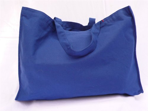 Image of PriscillaWoolworth Market Bag in Cotton - Blue