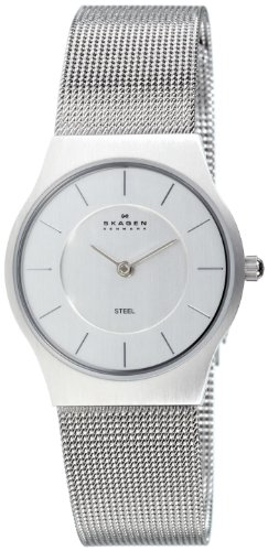 Skagen 233SSS Ladies Watch with Stainless Steel Bracelet