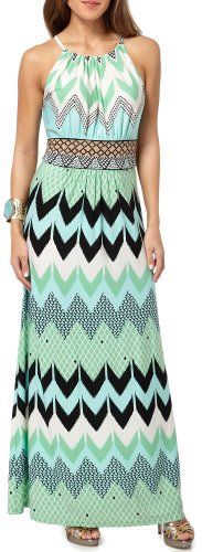 London Times Chevron Pattern Halter