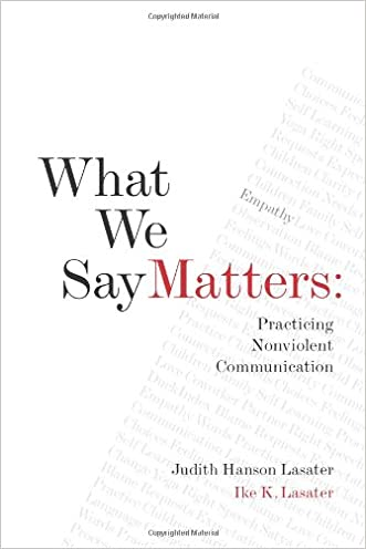 What We Say Matters: Practicing Nonviolent Communication written by Judith Hanson Lasater Ph.D.