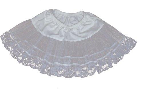Lace Petticoat (White) Child Accessory - 1