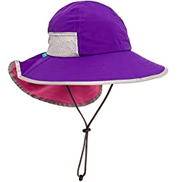 Sunday Afternoons Kids\' Play Sun Hat (Grape & Pink, 2-5 years)