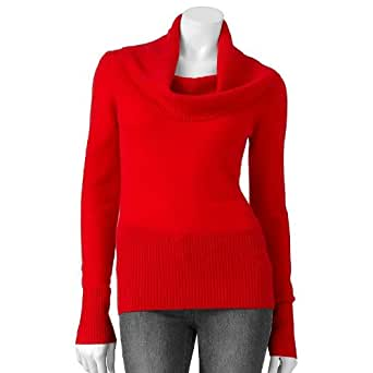 apt 9 cowlneck sweater s at
