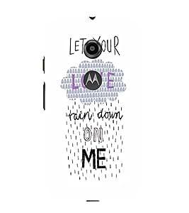 EPICCASE Rain on Me Mobile Back Case Cover For Moto E 2nd Generation (Designer Case)