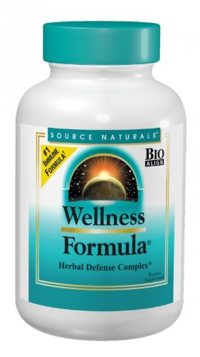Source Naturals Wellness Formula, 180 Tablets