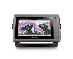 Garmin echoMAP 70s GPS without Transducer, Preloaded with Worldwide Basemap and US BlueChart g2 Offshore Charts