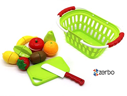 ZERBO-Kids-Sized-Basket-of-Velcro-Cutting-Fruit-Playset