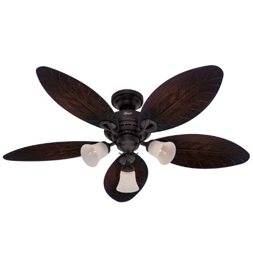 Hunter 23970 Oasis 54 Inch 3 Speed Ceiling Fan With 3