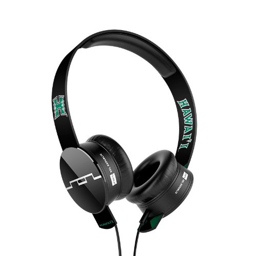 Sol Republic 1211-Uhi Collegiate Series Tracks On-Ear Headphones With Three Button Remote And Microphone - University Of Hawaii