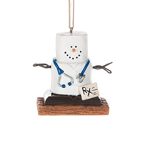 S'Mores Doctor Ornament