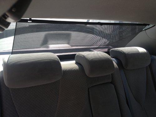 New Shade Styx Black Universal Rear Window Sunshade Free