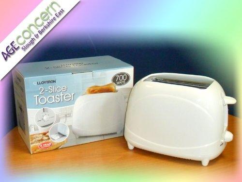 2 Slice 700W Toaster