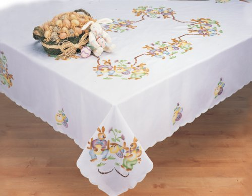 Easter Tablecloth 68x104