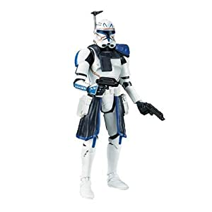 Star Wars, The Black Series, Clone Wars Captain Rex Action Figure #09, 3.75 Inches