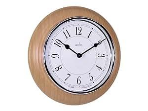 Acctim 24581 newton orologio da parete legno chiaro for Orologio legno amazon